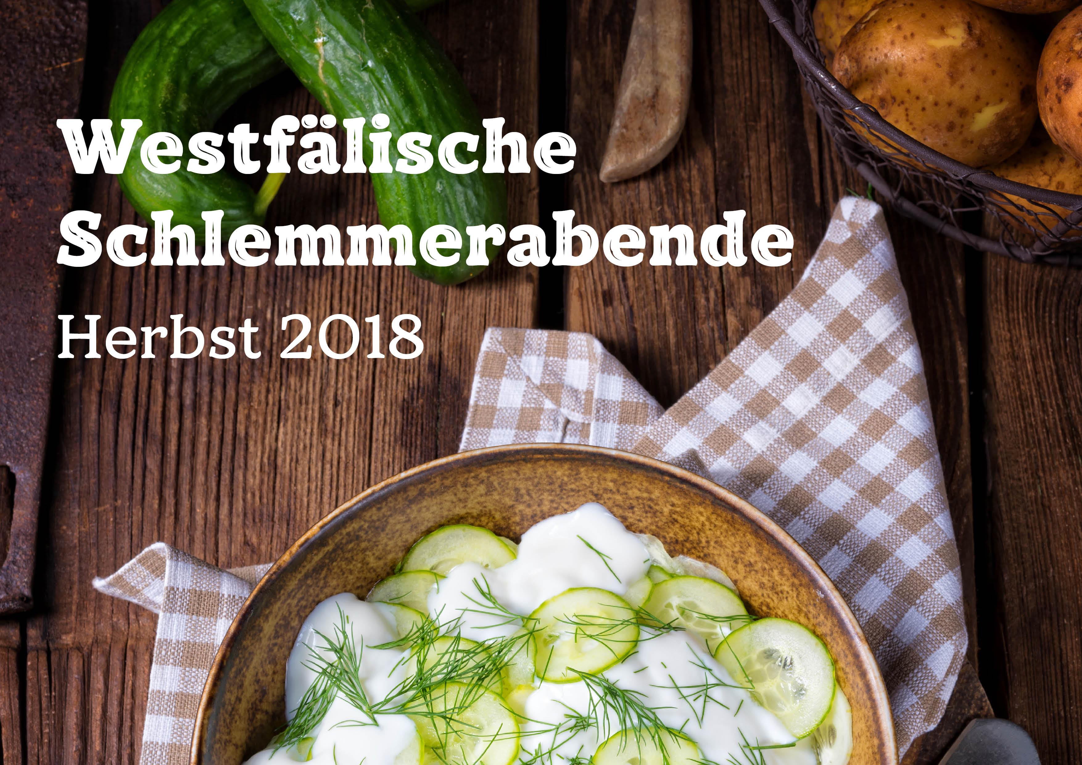 Westfälische Schlemmerabende 2018